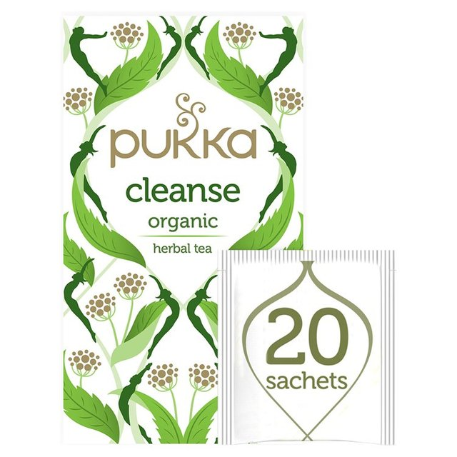 Pukka Organic Cleanse 20 Herbal Tea Sachets 36g