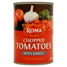 Roma Chopped Tomatoes with Garlic & Herbs 400g