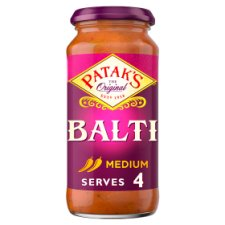 Pataks Medium Balti Sauce 450G