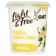 Light And Free D/Fr Oat With Vanilla Yoghurt 350G