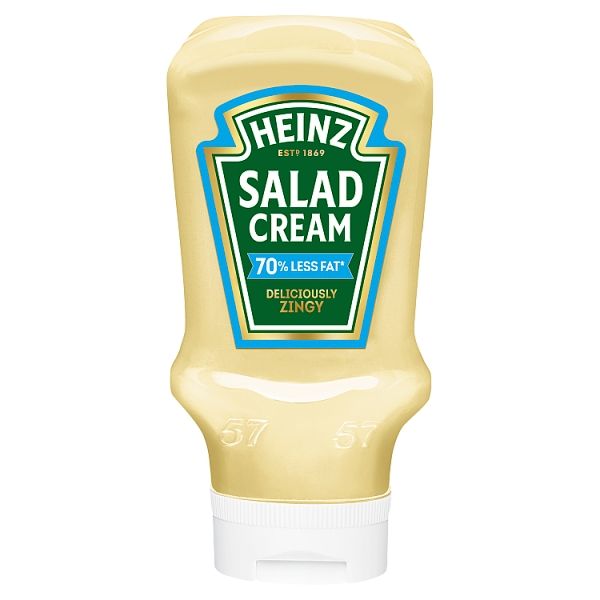 Heinz Salad Cream Extra Light Squeezy (435 g)