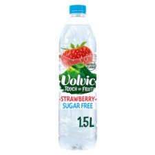 Volvic Touch of Fruit Sugar Free Strawberry Natural Flavoured Water 1.5L