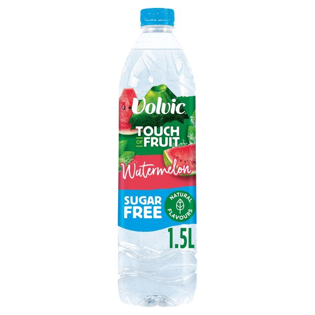 Volvic Touch of Fruit Sugar Free Watermelon Natural Flavoured Water 1.5L