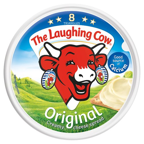 The Laughing Cow Original Spread Cheese 8 Triangles 140g