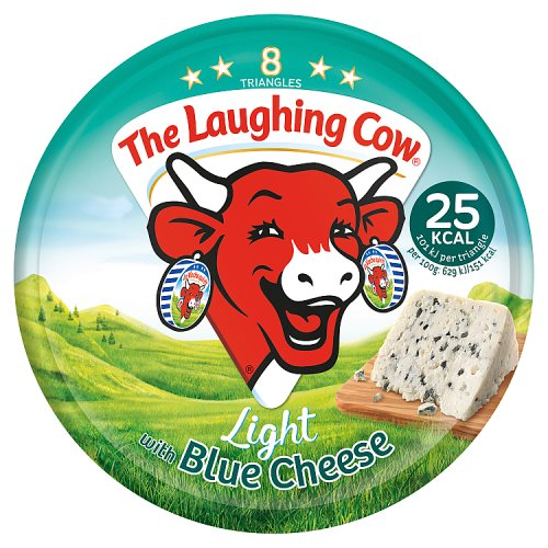 The Laughing Cow Light Blue Spread Cheese 8 Triangles 128g