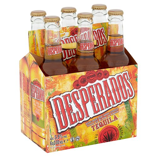 Desperados Beer Flavoured with Tequila 6 x 330ml