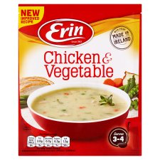 Erin Traditional Chicken & Vegetable Soup 76G