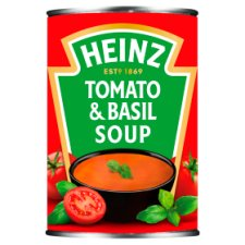 Heinz Cream Of Tomato And Basil Soup 400G