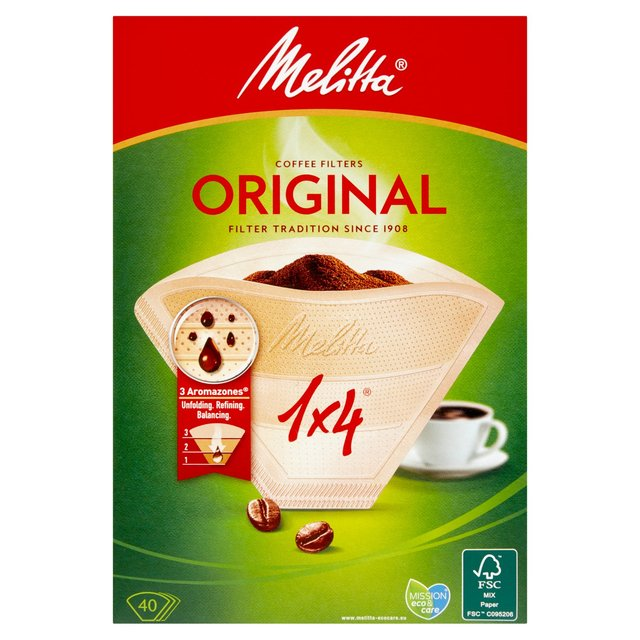 Melitta Original Filter 40 Pieces