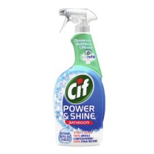Cif Power And Shine Bathroom Cleaner Spray 700Ml