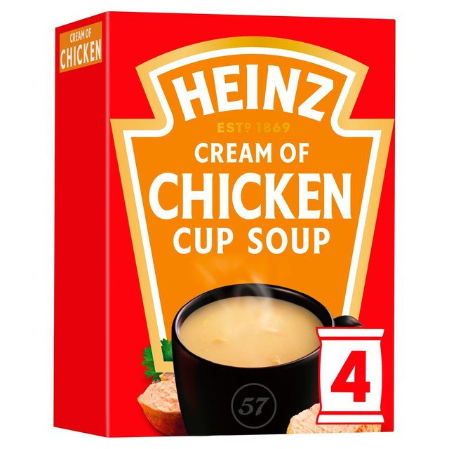 Heinz Cream of Chicken Cup Soup 2 x 17g (68g)