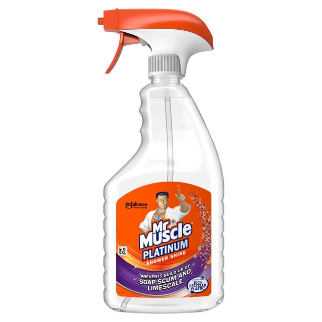 Mr Muscle Platinum Shower Shine Spray 750ml