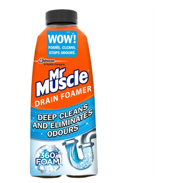 Mr Muscle Drain Foamer Odour Eliminator 500ml