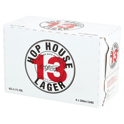 Hop House 13 Lager Beer 8 x 500ml Can