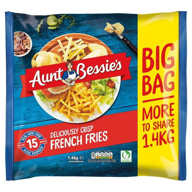 Aunt Bessie's Deliciously Crisp French Fries 1.4kg