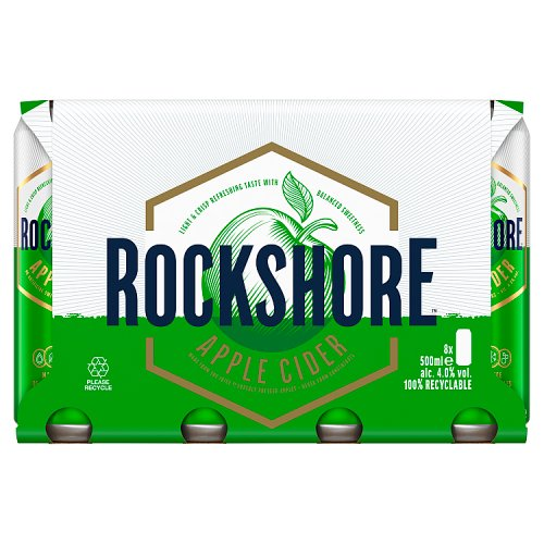 Rockshore Apple Cider 8 x 500ml