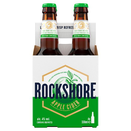 Rockshore Apple Cider 4 x 330ml