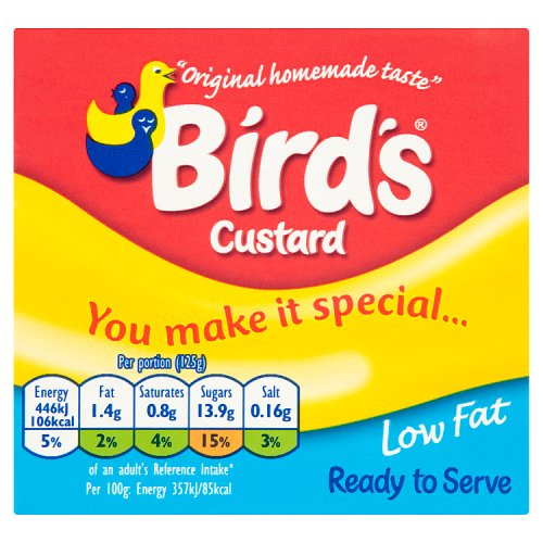 Bird's Low Fat Custard Carton 500g