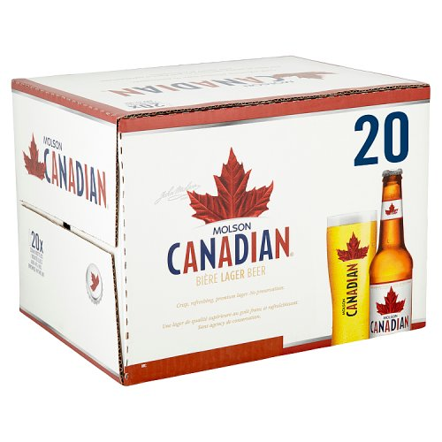 Molson Canadian Lager 20 x 330ml