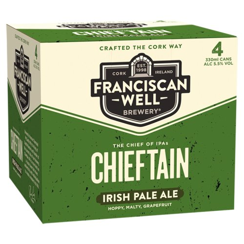 Franciscan Well Chieftain IPA 4 x 330ml