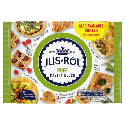 Jus-Rol Puff Pastry Block 500g