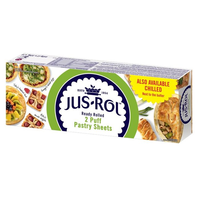 Jus-Rol Ready Rolled Puff Pastry Sheets 2 x 320g (640g)