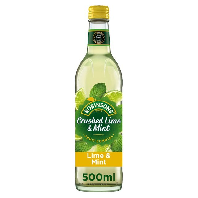 Robinsons Crushed Lime & Mint Fruit Cordial 500ml