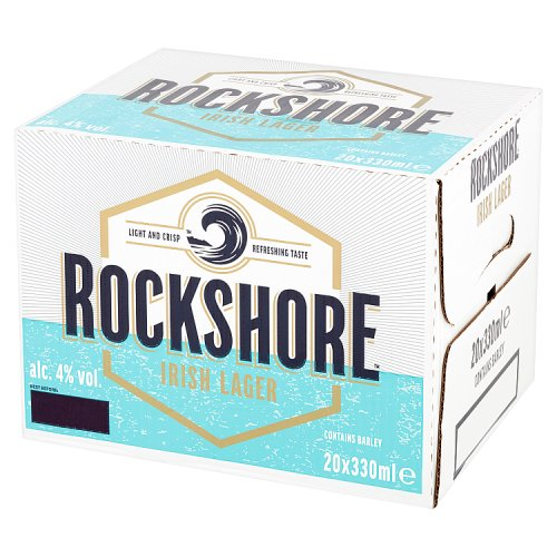 Rockshore Irish Lager 20 x 330ml Bottles