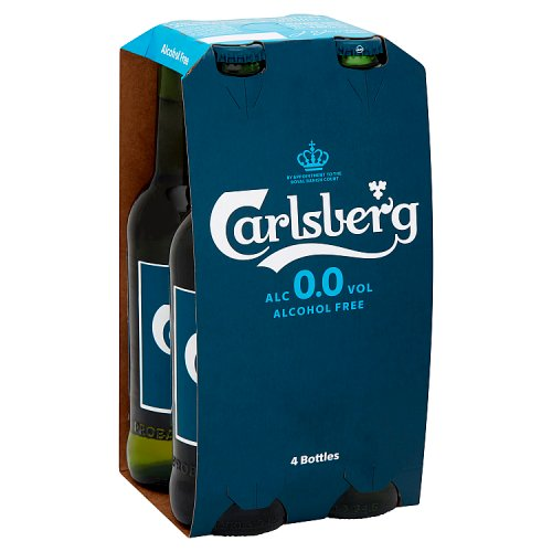 Carlsberg Alcohol Free 4 x 330ml