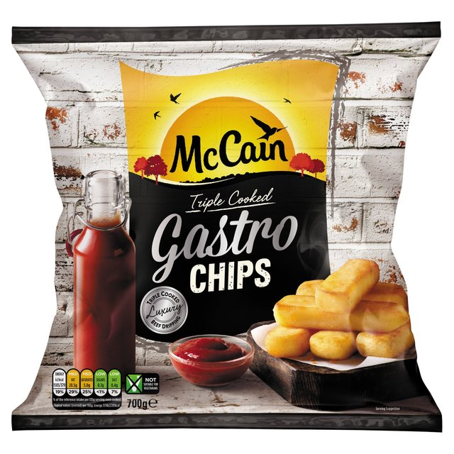 McCain Triple Cooked Gastro Chips 700g