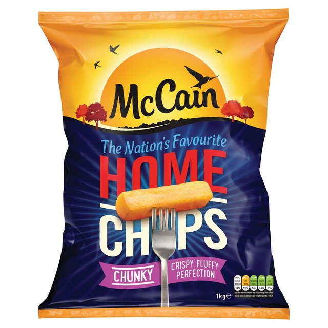 McCain Home Chips Chunky 1kg