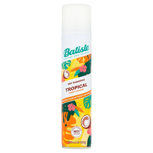 Batiste Dry Shampoo Coconut & Exotic Tropical 200ml