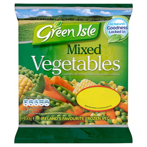 Green Isle Mixed Vegetables 450g