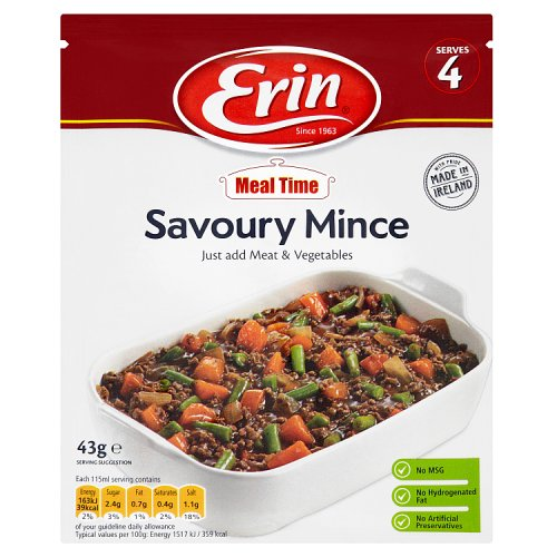 Erin Meal Time Savoury Mince Mix 43g