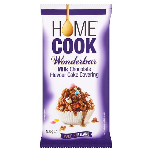 Homecook Wonderbar Milk Chocolate Flavour Cake Covering 150g