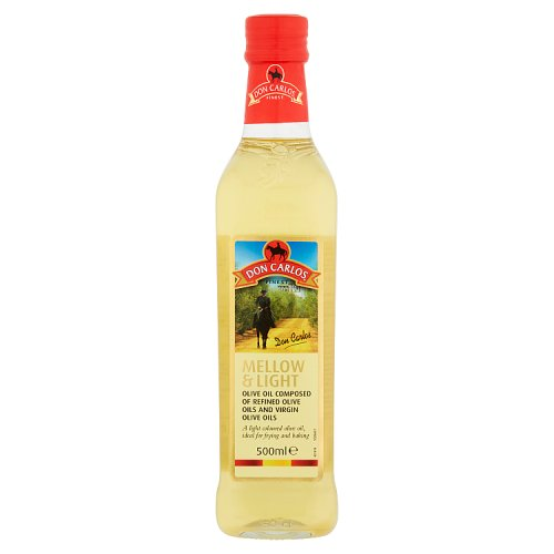 Don Carlos Mellow & Light Olive Oil 500ml