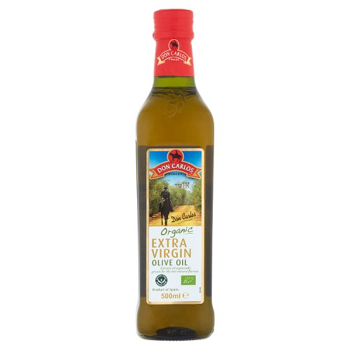 Don Carlos Finest Organic Extra Virgin Olive Oil 500ml