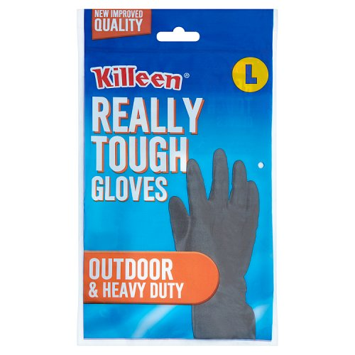 Killeen Really Tough Gloves Outdoor & Heavy Duty Large