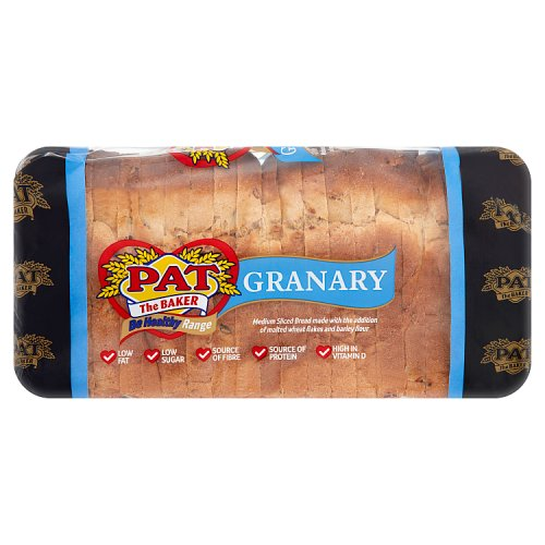 Pat the Baker Be Healthy Range Granary 800g