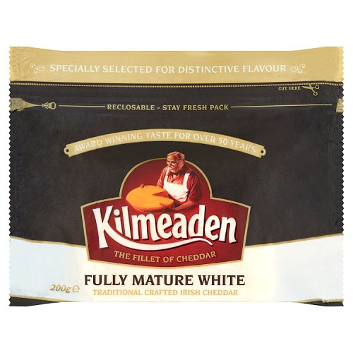 Kilmeaden Fully Mature White Traditional Crafted Irish Cheddar 200g
