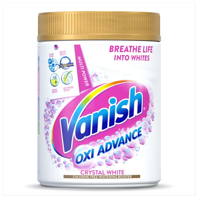 Vanish Gold Oxi Action Crystal White Powder Fabric Stain Remover 470g