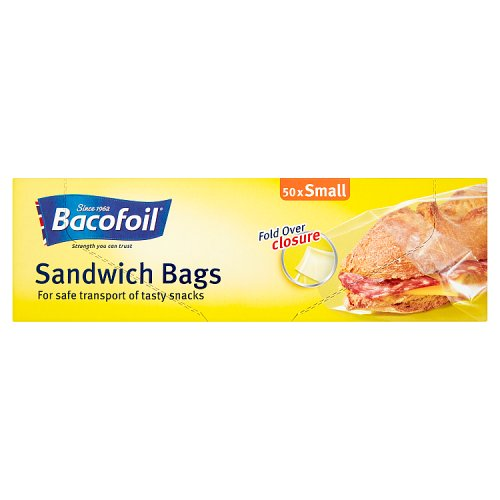 Bacofoil Sandwich Bags 50 x Small