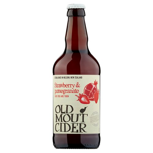 Old Mout Cider Strawberry & Pomegranate Bottle 500ml