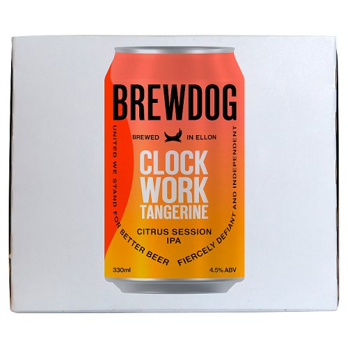 BrewDog Clock Work Tangerine Citrus Session IPA 4 x 330ml