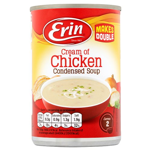 Erin Cream of Chicken Condensed Soup 295g