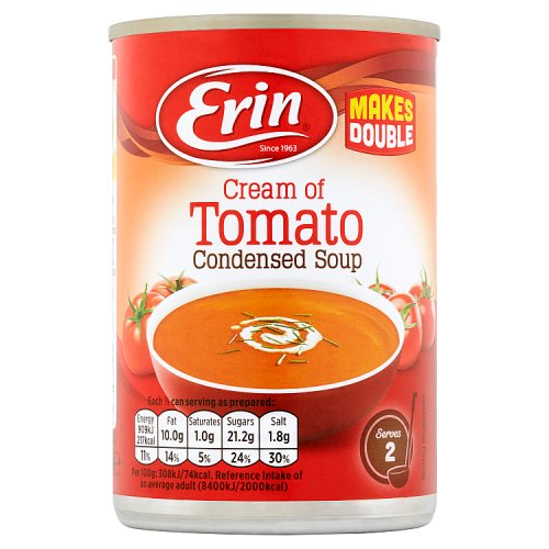 Erin Cream of Tomato Condensed Soup 295g