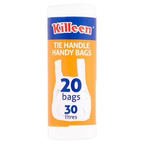 Killeen Tie Handle Handy Bags 20 Bags 30 Litres