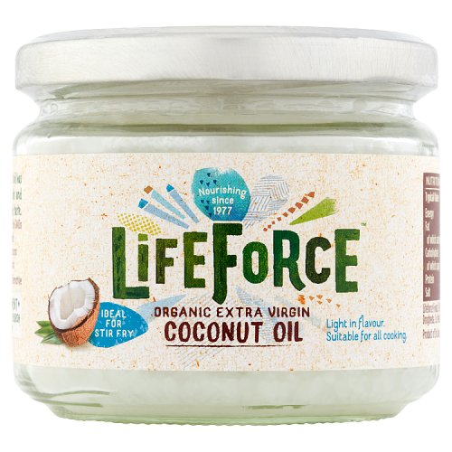 Lifeforce Organic Extra Virgin Coconut Oil 300ml