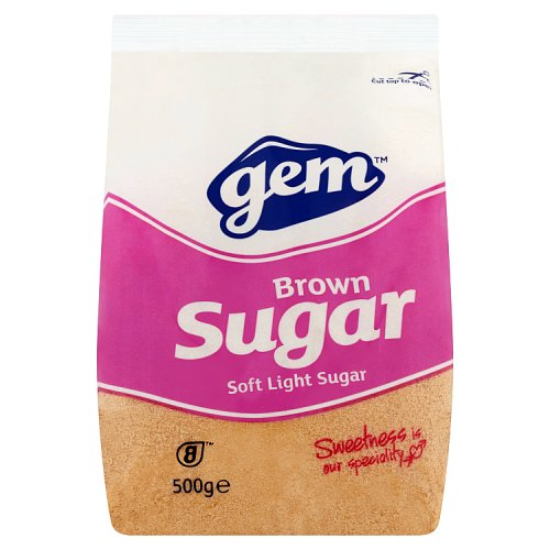 Gem Brown Sugar Soft Light Sugar 500g