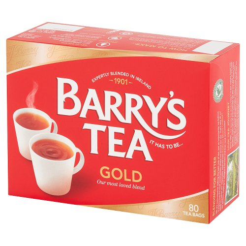 Barry's Tea Gold 80 Tea Bags 250g
